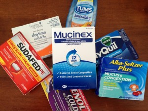 Yeah, that's right.  I included Tums.  You're probably going to need them if you take all of this other medicine.