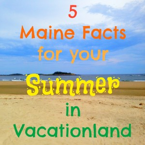summer in Maine