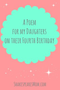 poem for my daughters