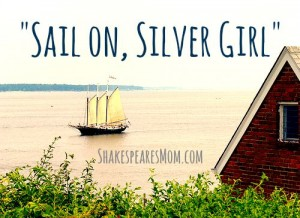 sail on silver girl